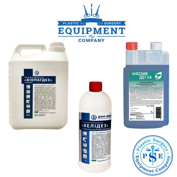 Disinfectants, antiseptics, sterilizers