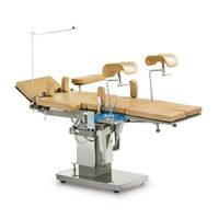 Operating table, surgical, hydraulic with electric drive