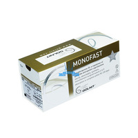 MONOFAST (Monocril) 4/0, length 75 cm, needle 19 mm - cutting, bend 3/8 (TS-002)