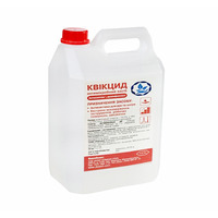 Disinfectant QUICCID + DANAMED CLEANER for disinfection of surfaces and equipment, liquid - 5000 ml, without dispenser. Preparation of working solution is not required (ready for use) QC-006
