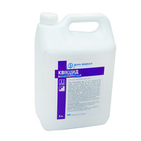 Disinfectant QUICCID + CLEANER, DANAMED, for disinfection of surfaces and equipment, 5000 ml without dispenser, ready to use, в интернет-магазине